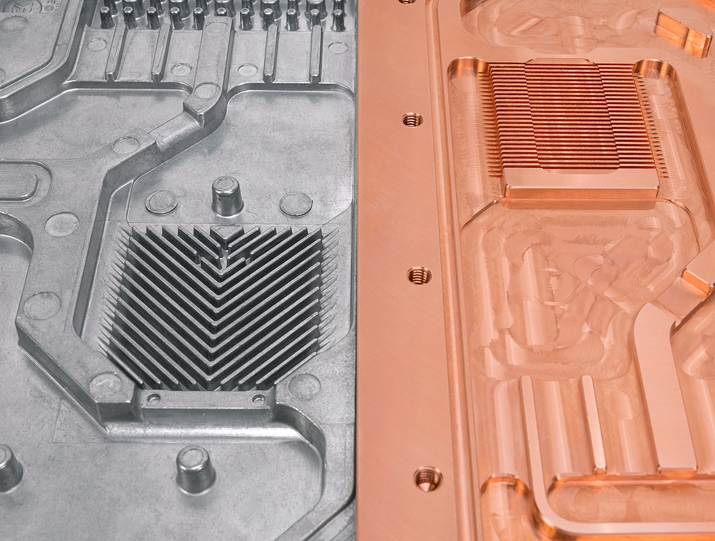 Срочный корпус РЭА с радиатором