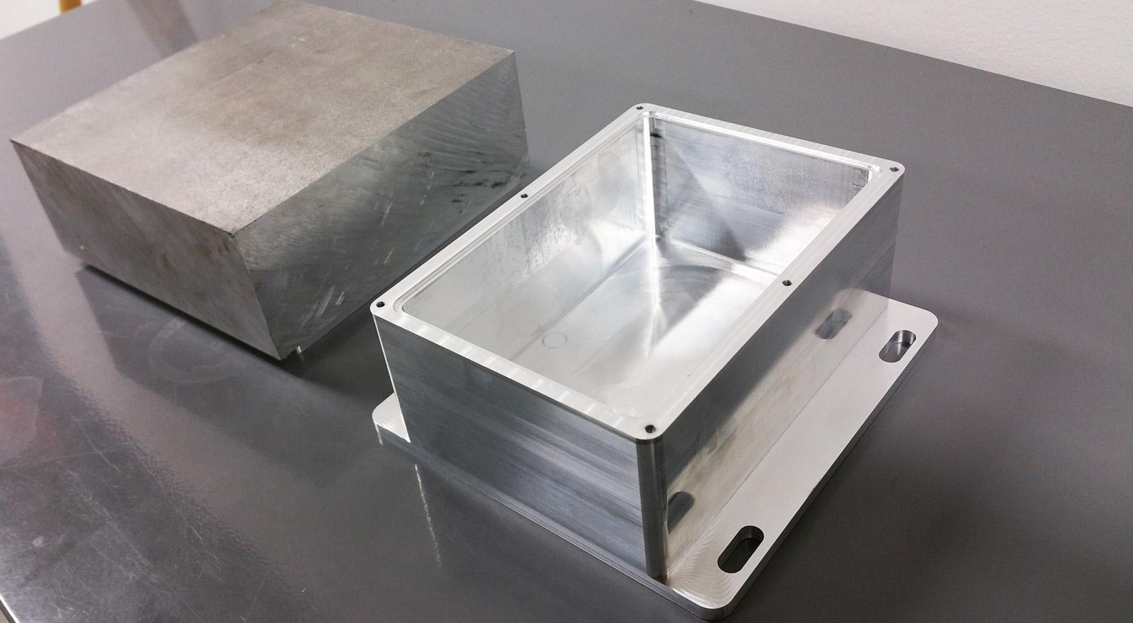 Алюминиевый корпус прибора